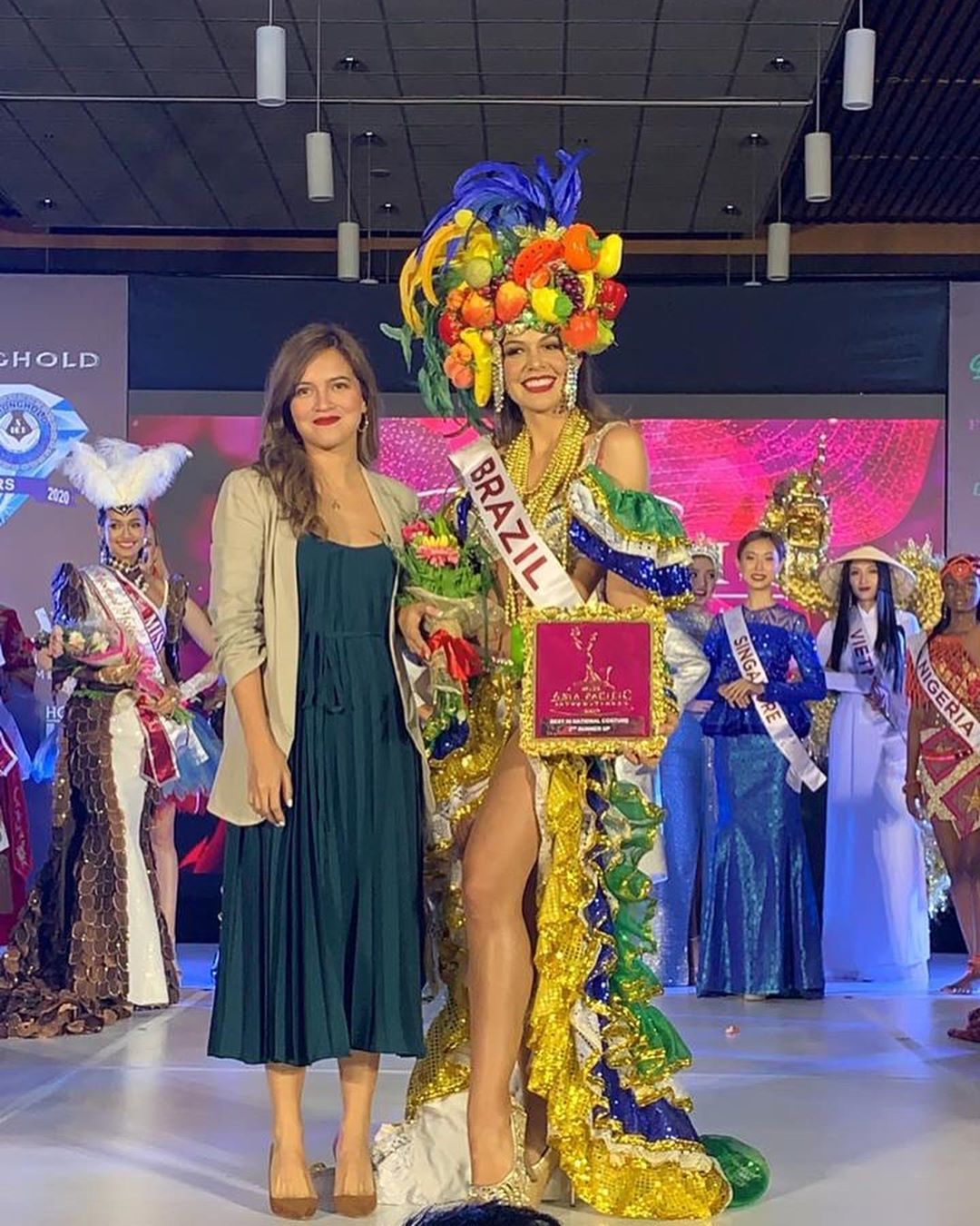 carolina schuler, 3rd runner-up de miss asia pacific international 2019/miss brasil universitaria 2017. - Página 4 71003610
