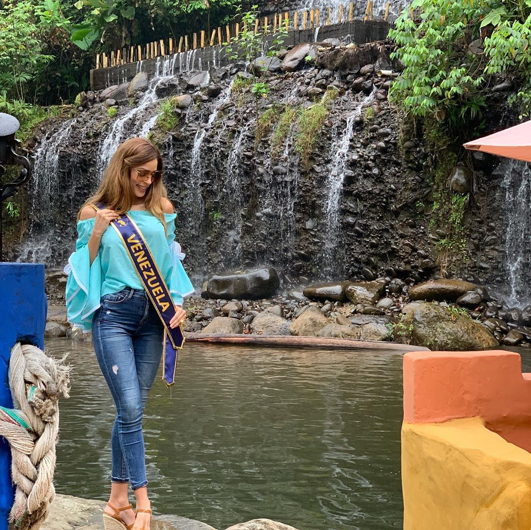 maria jose bracho, miss venezuela continentes unidos 2019. - Página 3 71072210