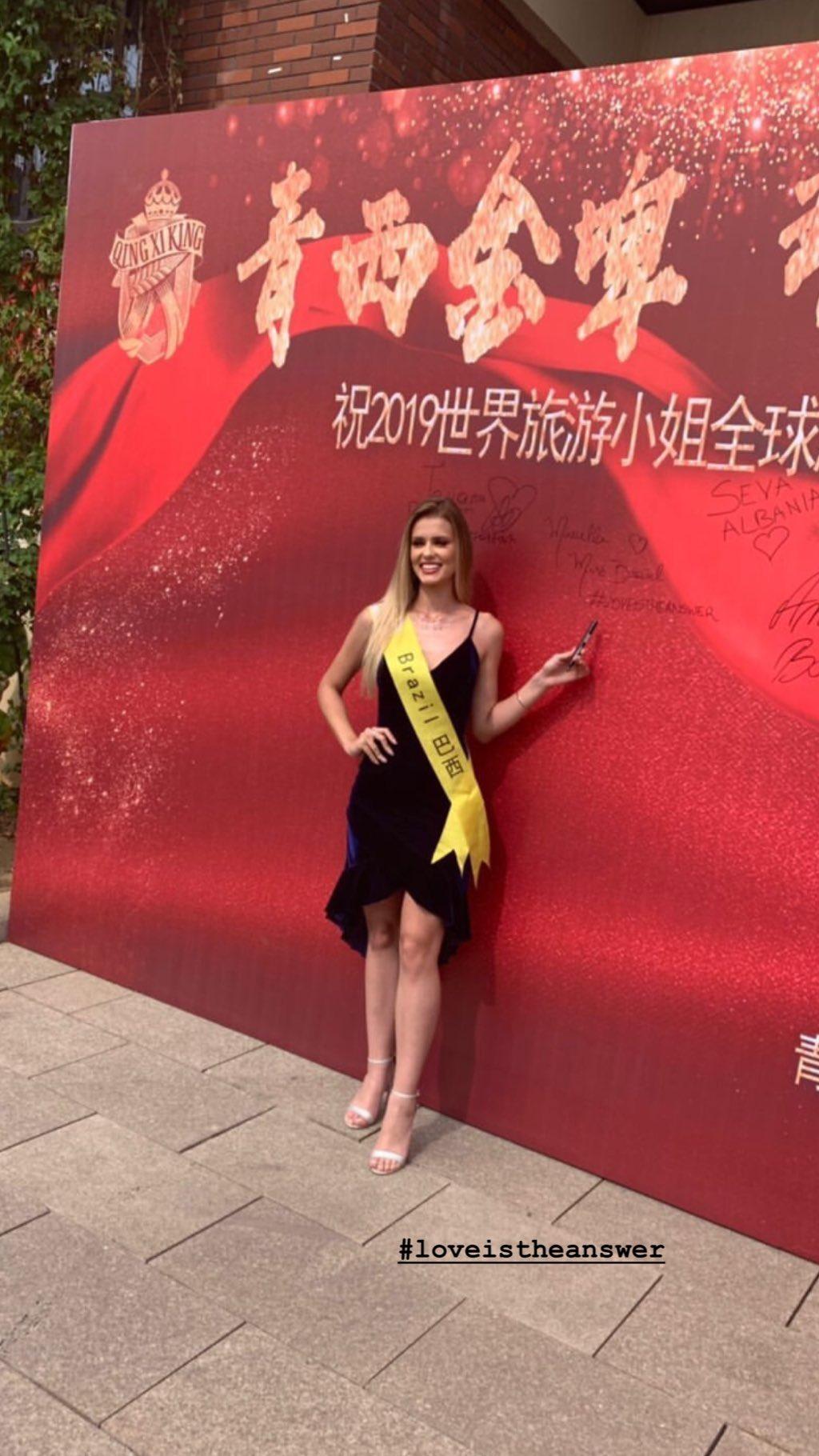 marcella kozinski de barros, 3rd runner-up de miss tourism world 2019. - Página 5 71173010