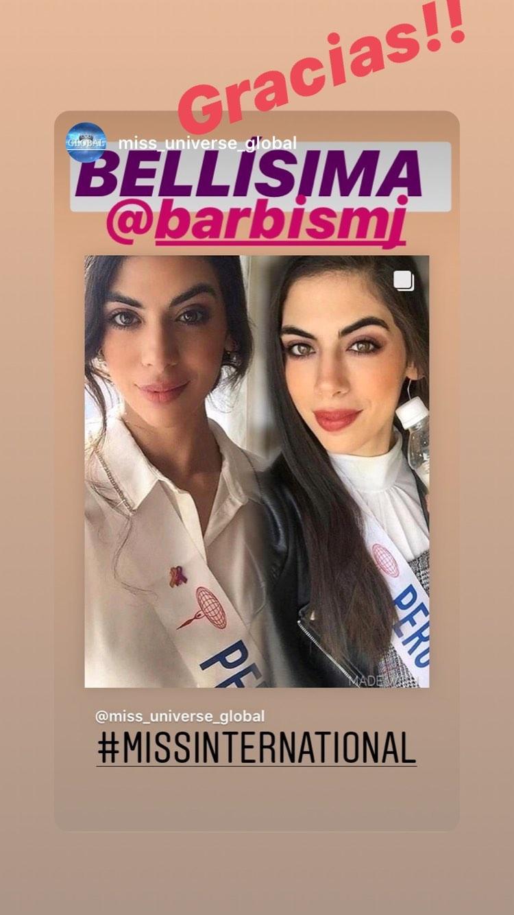 majo barbis, miss international peru 2019. - Página 5 72481011