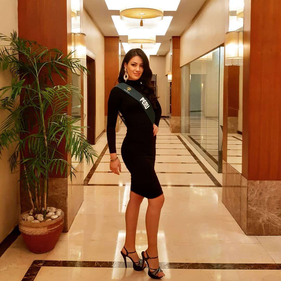 alexandra caceres drago, miss earth peru 2019. - Página 3 72529010