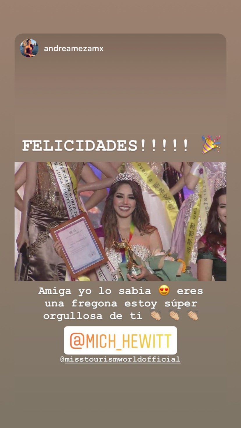 mich hewitt, miss tourism world 2019. - Página 4 72654210