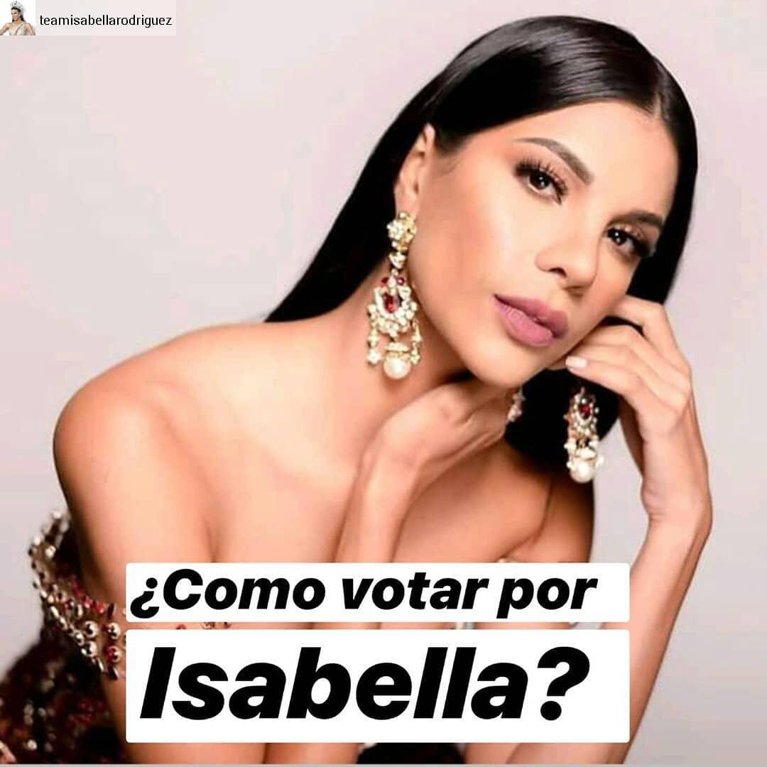 isabella rodriguez, top 40 de miss world 2019. - Página 3 72986010