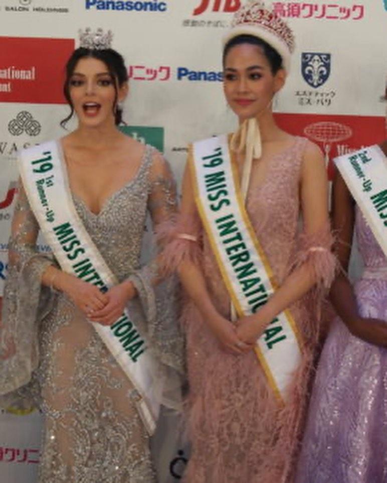andrea toscano, 1st runner-up de miss international 2019. - Página 43 73002110