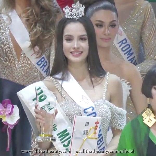 maria alejandra vengoechea, miss colombia hispanoamericana 2021/3rd runner-up de miss international 2019. - Página 11 73512623