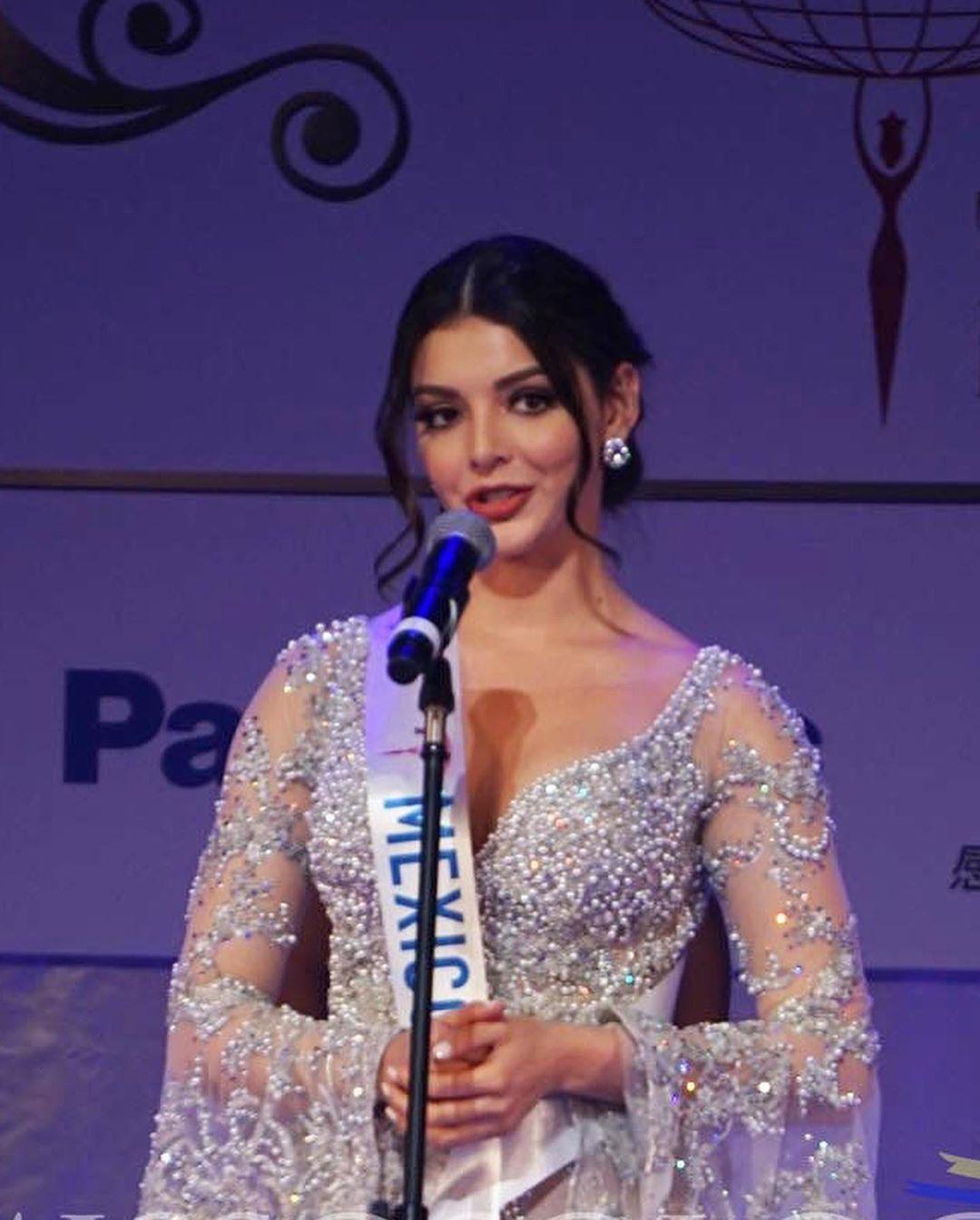 andrea toscano, 1st runner-up de miss international 2019. - Página 43 74341810