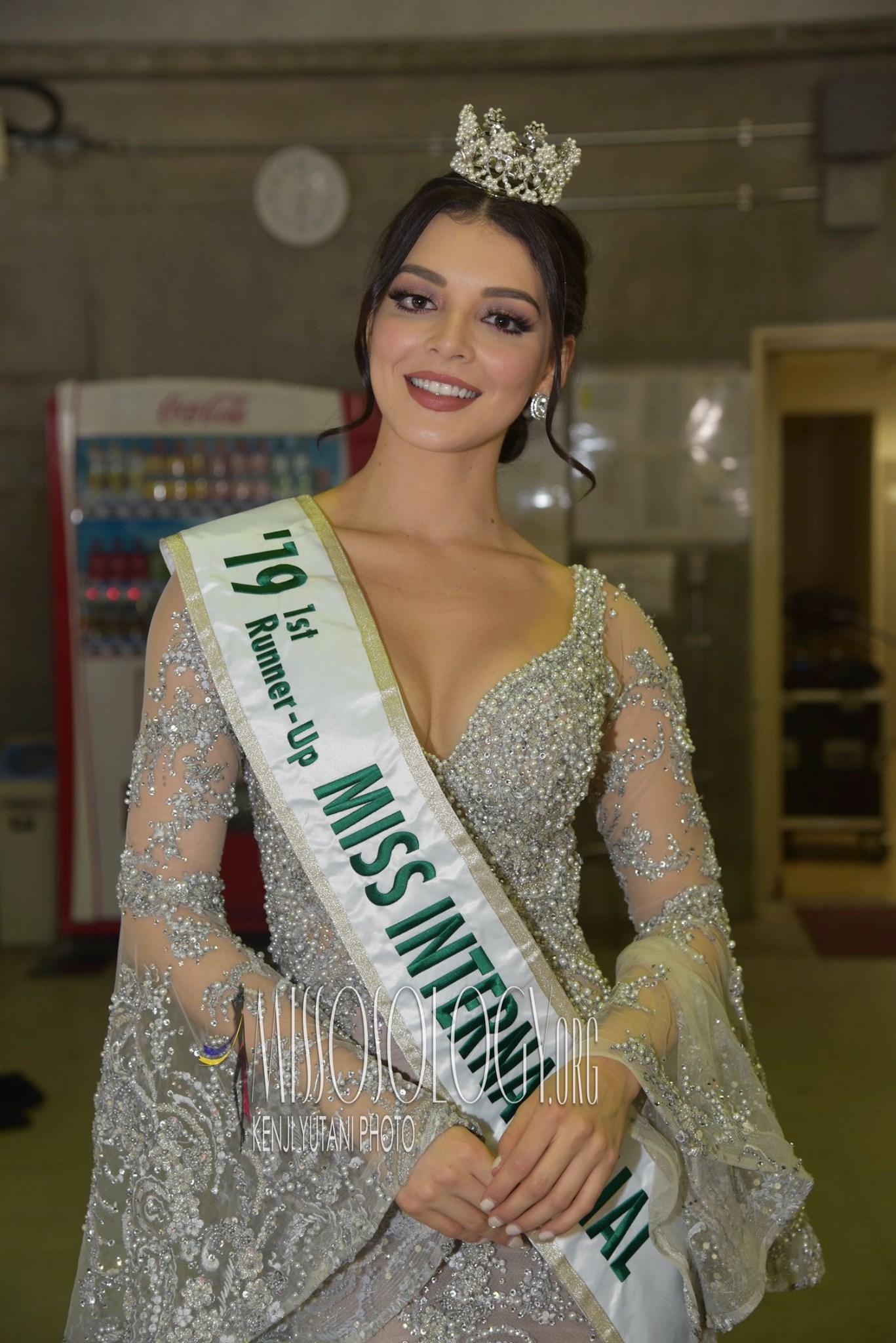 andrea toscano, 1st runner-up de miss international 2019. - Página 44 74643510