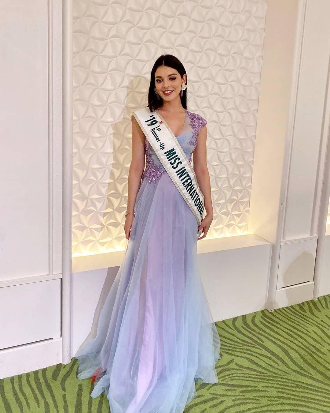 andrea toscano, 1st runner-up de miss international 2019. - Página 43 74649512