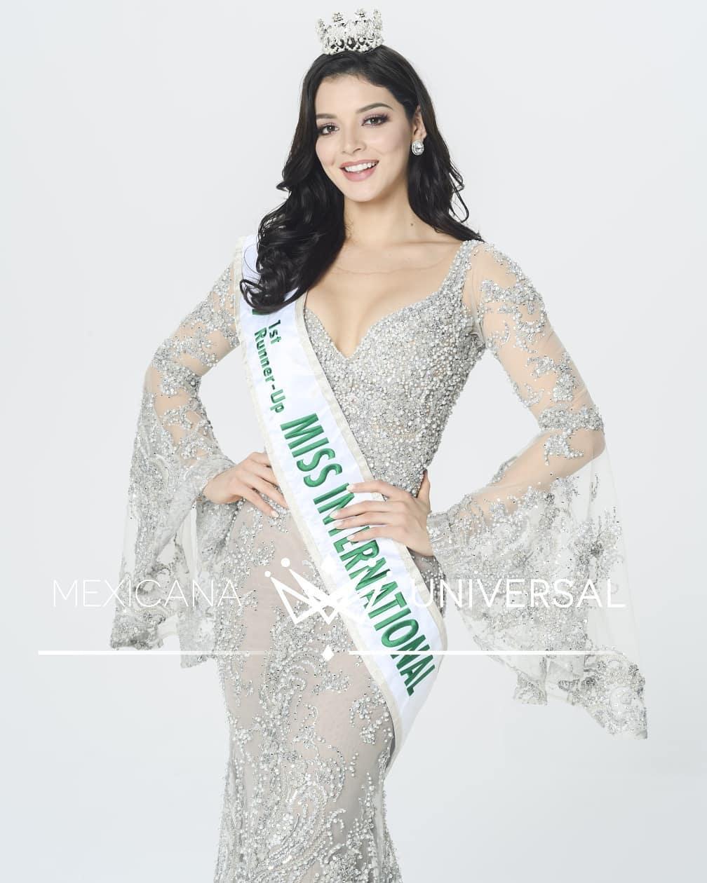 andrea toscano, 1st runner-up de miss international 2019. - Página 44 74891011
