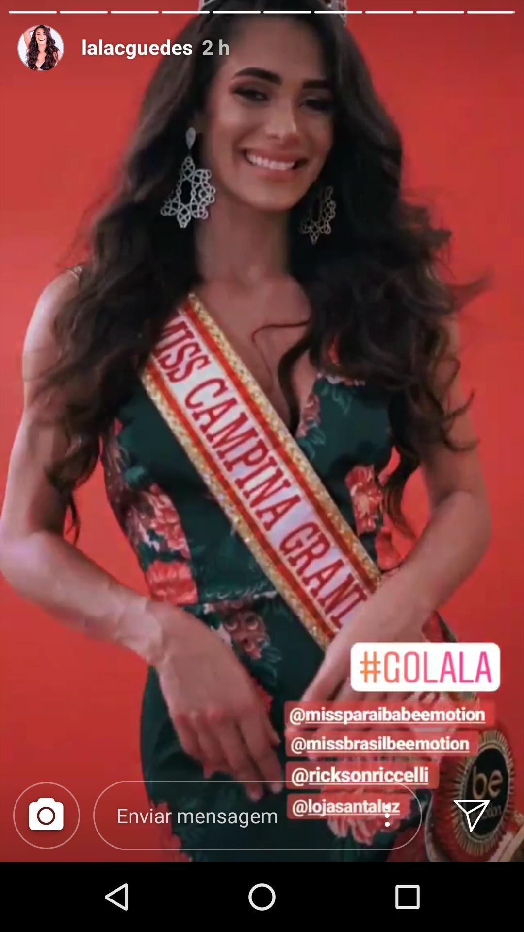 lala guedes, miss grand brasil 2020. - Página 3 74999410