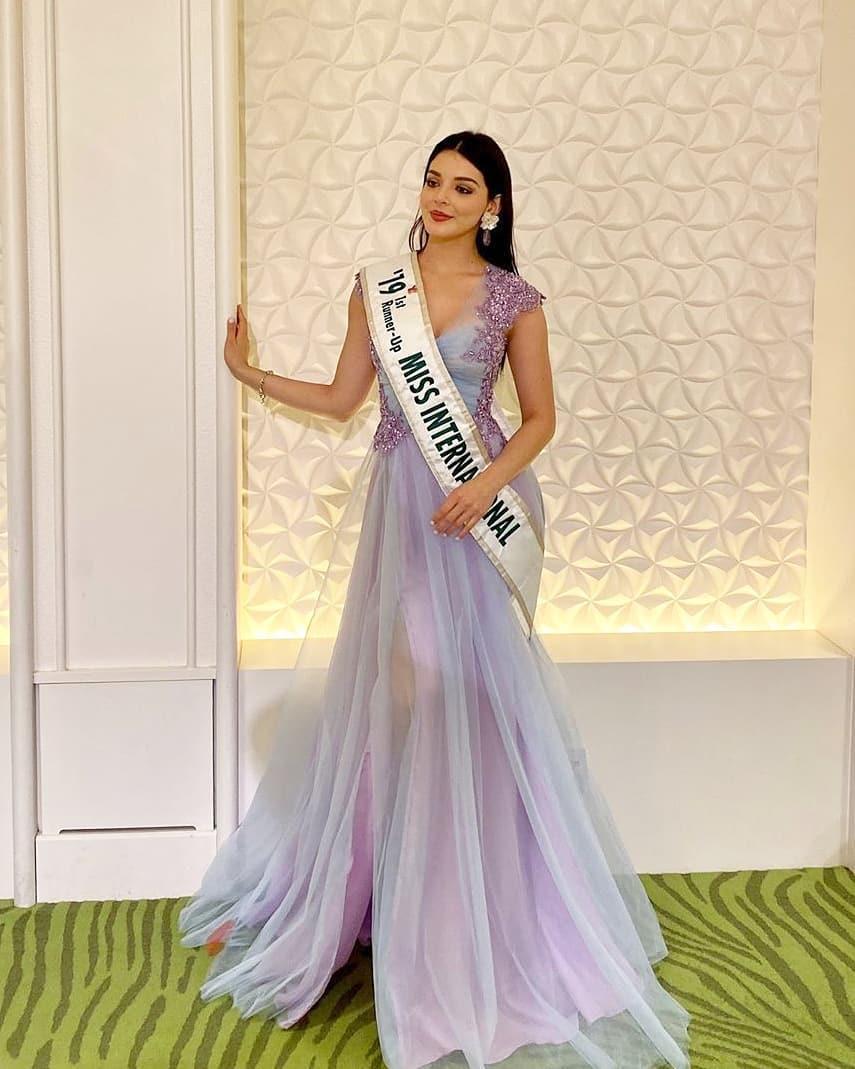 andrea toscano, 1st runner-up de miss international 2019. - Página 43 75210415