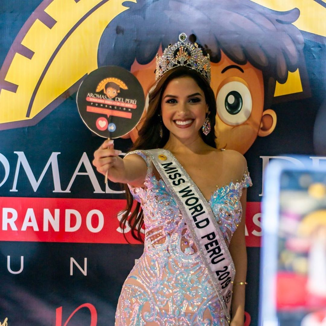 angella escudero, miss world peru 2019. 76887210