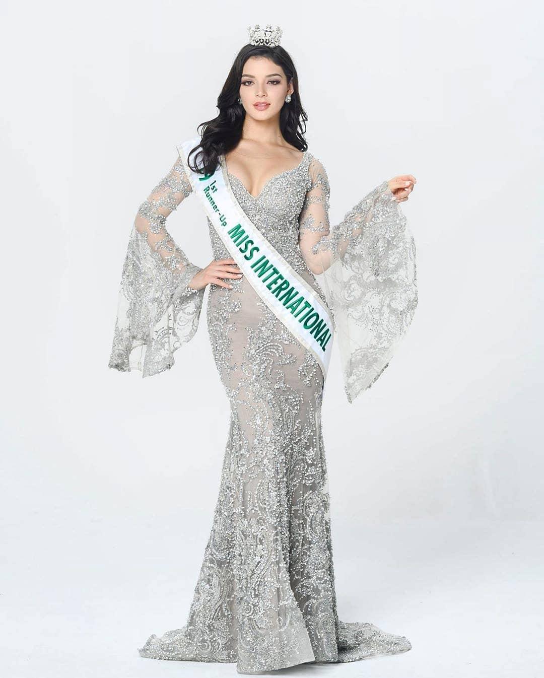 andrea toscano, 1st runner-up de miss international 2019. - Página 43 76906011
