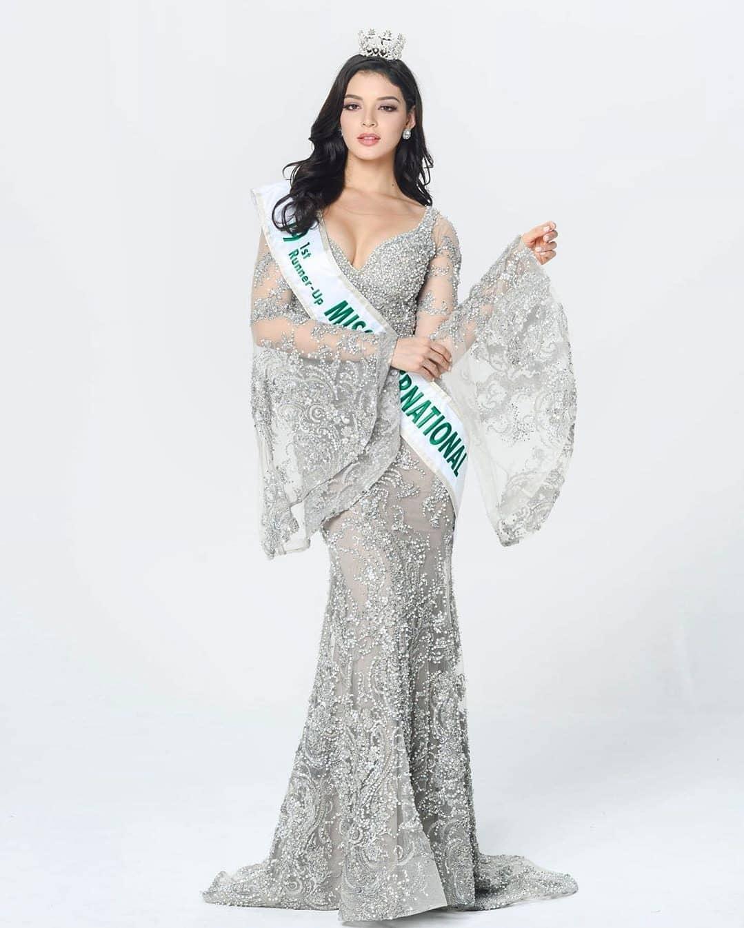andrea toscano, 1st runner-up de miss international 2019. - Página 43 77119411