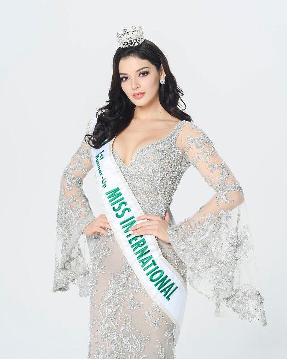 andrea toscano, 1st runner-up de miss international 2019. - Página 43 78998010