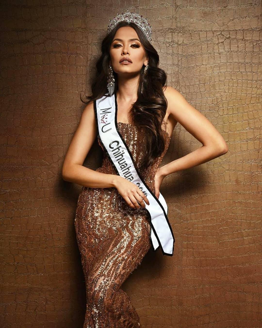 andrea meza, mexicana universal chihuahua 2020/1st runner-up de miss world 2017. - Página 41 80132910