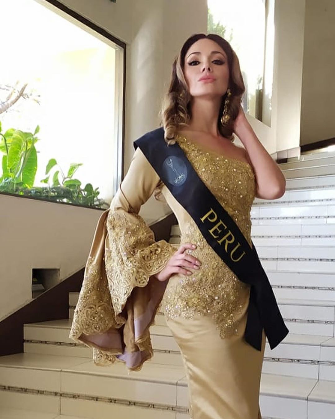 hany portocarrero, 1st runner-up de miss global 2019. 80391010