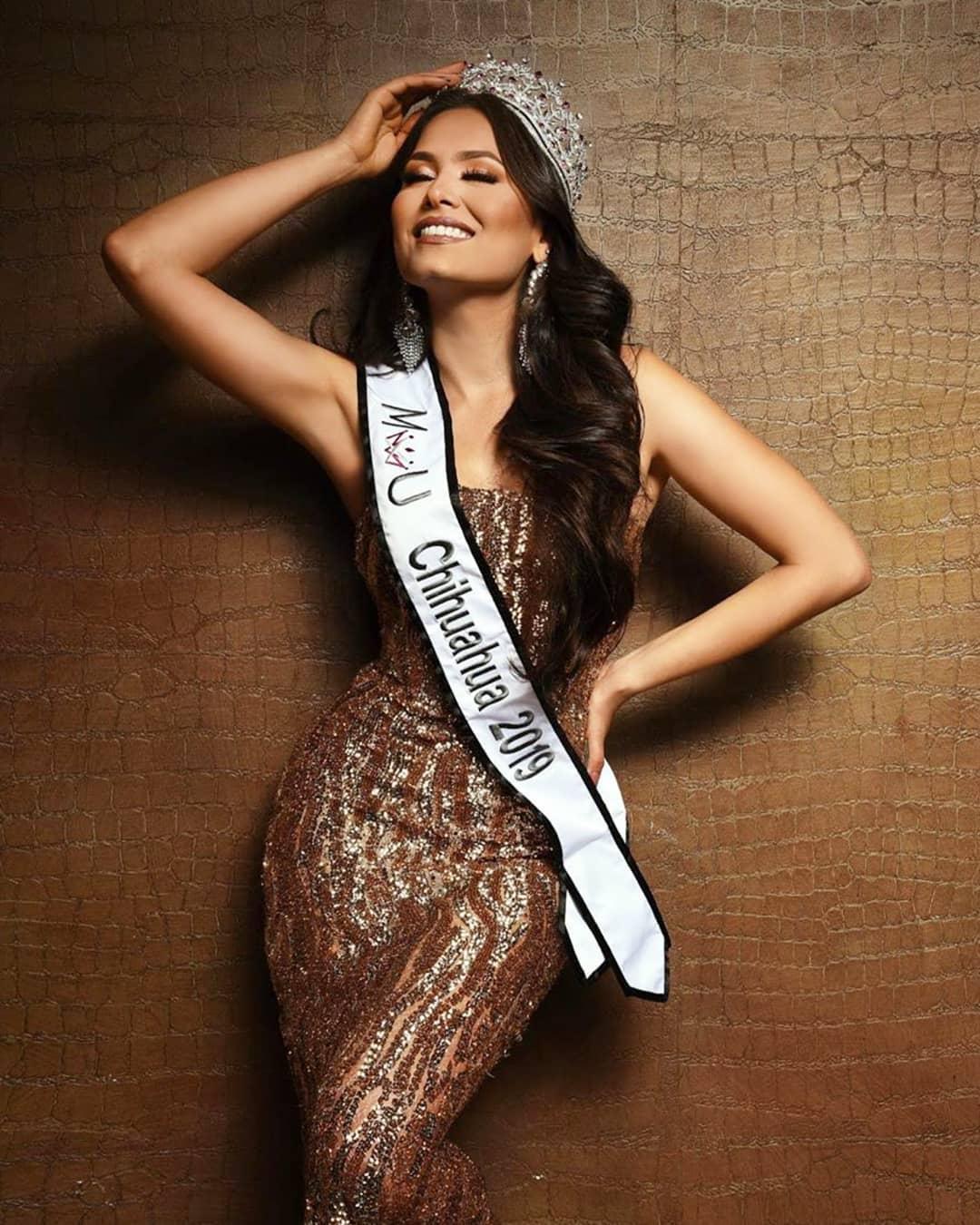 andrea meza, mexicana universal chihuahua 2020/1st runner-up de miss world 2017. - Página 41 81026910