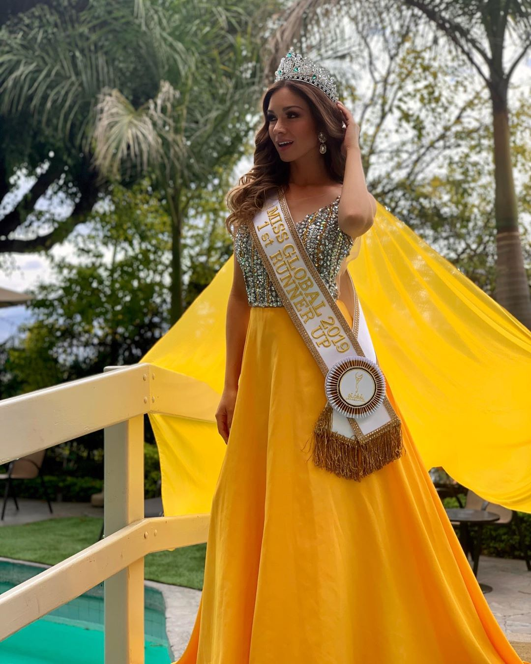 hany portocarrero, 1st runner-up de miss global 2019. 81322210
