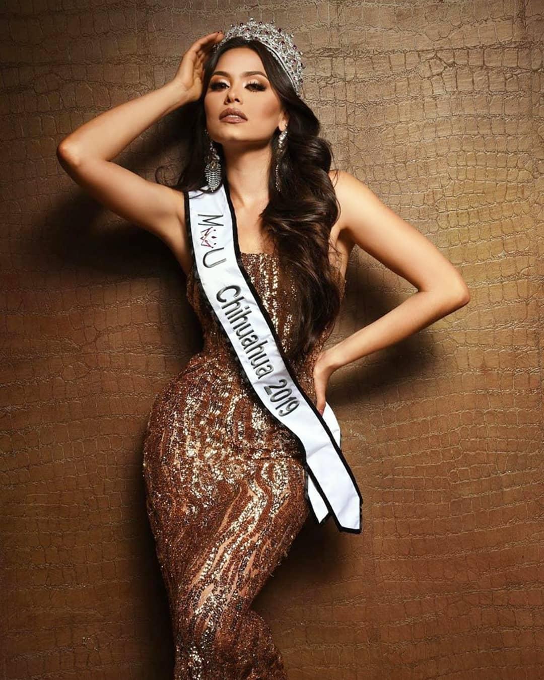 andrea meza, mexicana universal chihuahua 2020/1st runner-up de miss world 2017. - Página 41 81340310