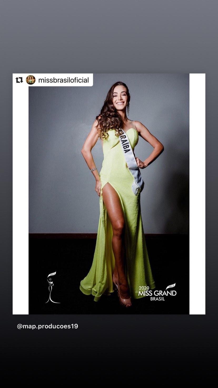 lala guedes, miss grand brasil 2020. - Página 7 83000710