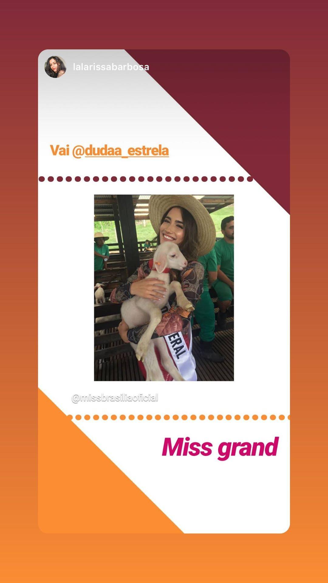 duda estrela, miss grand distrito federal 2020/miss plano piloto mundo 2018.   - Página 4 83096110