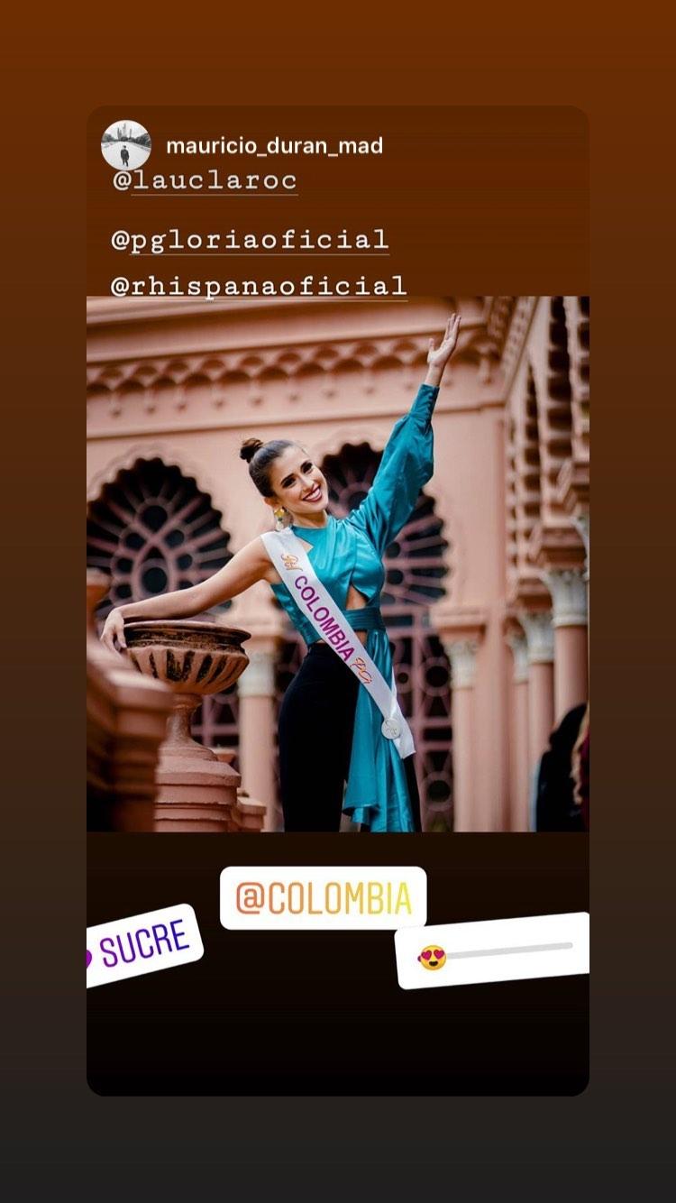laura claro, primera finalista de reyna hispanoamericana 2019. - Página 6 83098110
