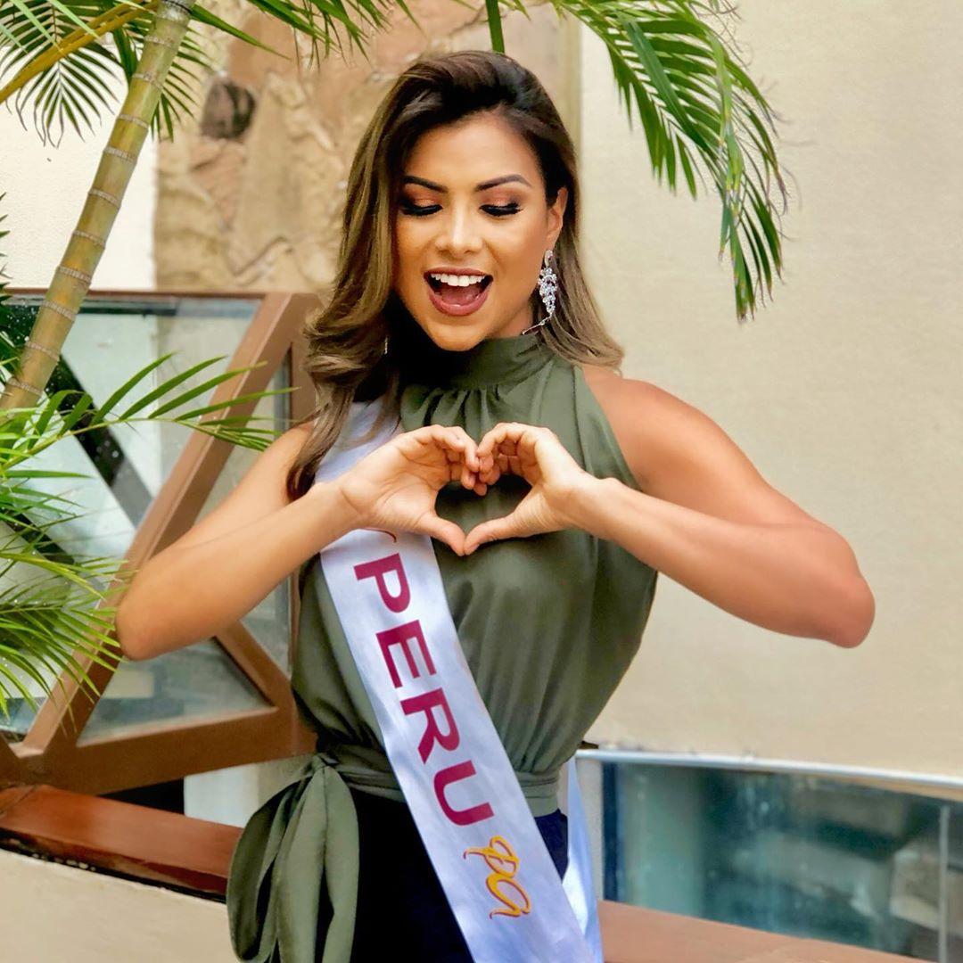 pierina melendez, miss hispanoamericana peru 2019. - Página 3 83163610