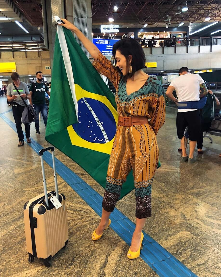 gabrielle vilela, top 2 de reyna hispanoamericana 2019/top 20 de miss grand international 2018/top 40 de miss world 2017/reyna internacional ganaderia 2013.  - Página 31 83239510