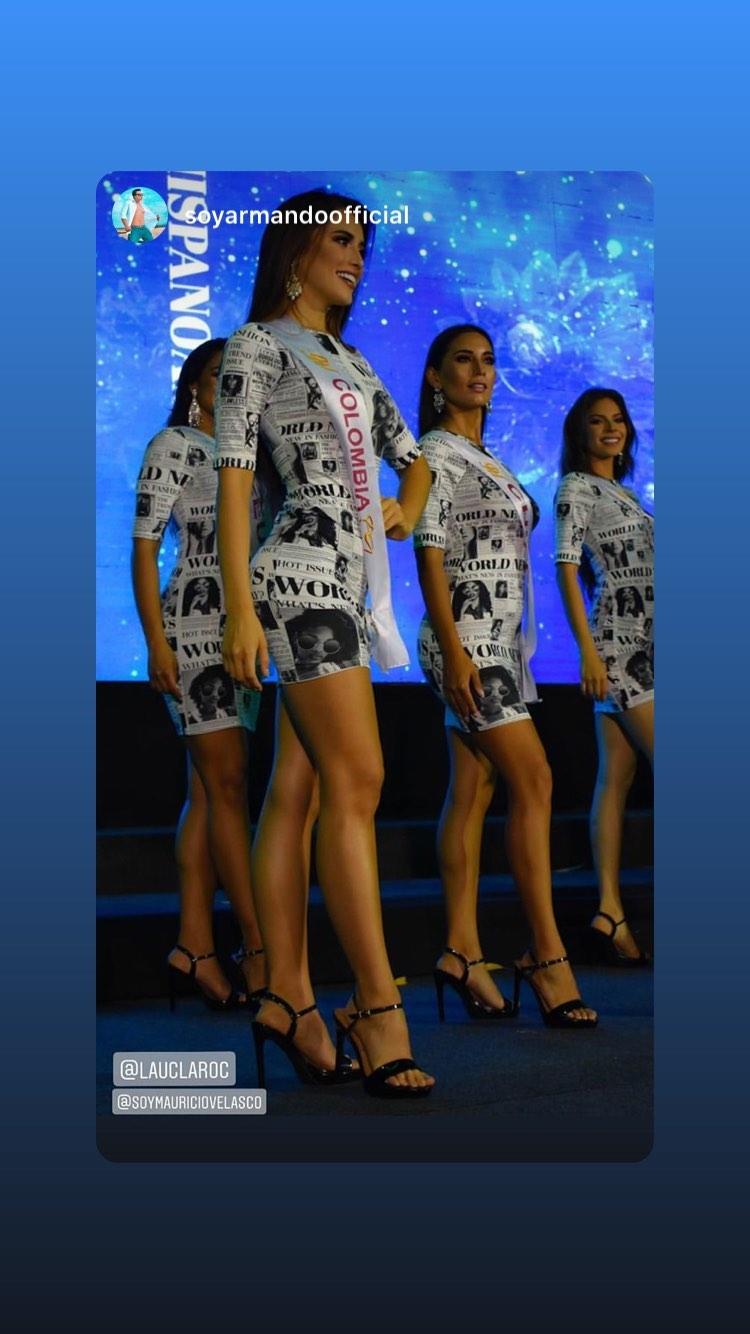 laura claro, primera finalista de reyna hispanoamericana 2019. - Página 7 83897810