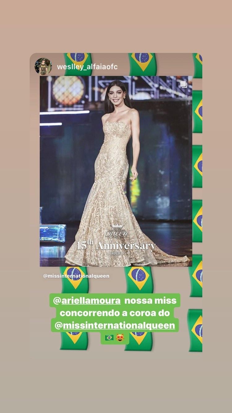 ariella moura, 2nd runner-up de miss international queen 2020.   - Página 8 84211210