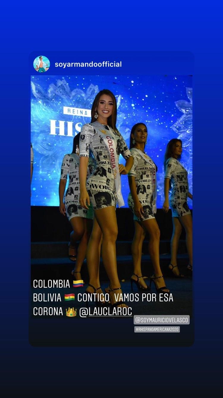 laura claro, primera finalista de reyna hispanoamericana 2019. - Página 7 84316510