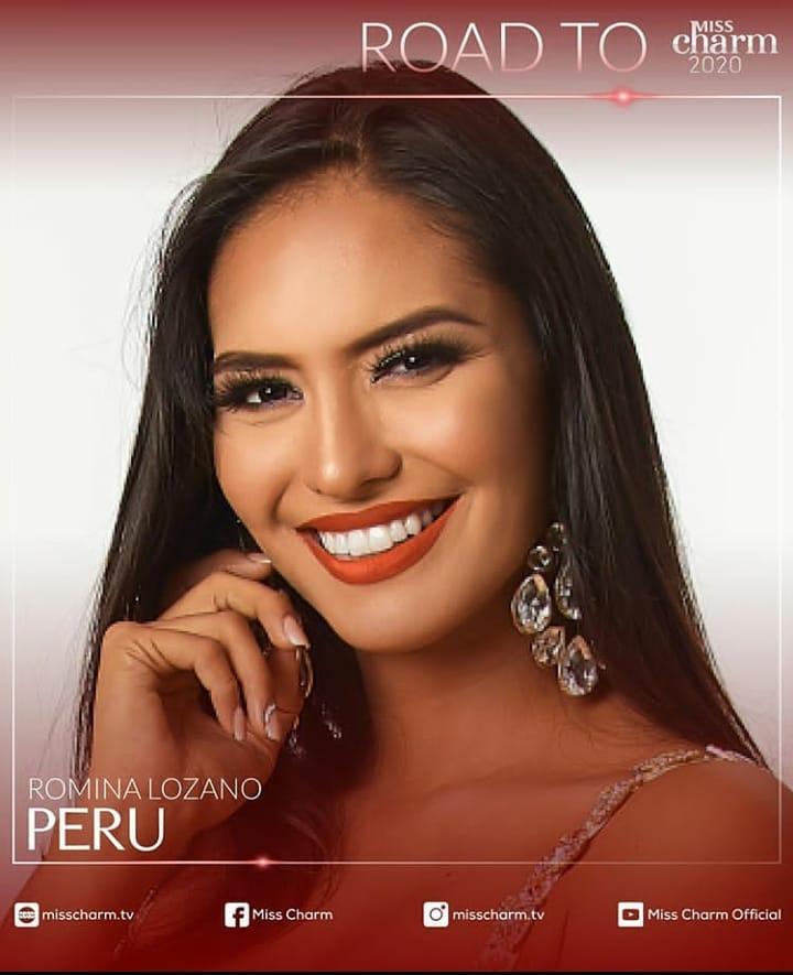 romina lozano, miss charm peru 2020/miss peru universo 2018. - Página 21 84331810