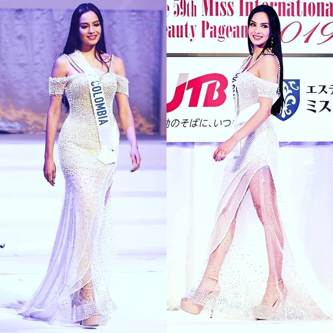 maria alejandra vengoechea, miss colombia hispanoamericana 2021/3rd runner-up de miss international 2019. - Página 13 87542210