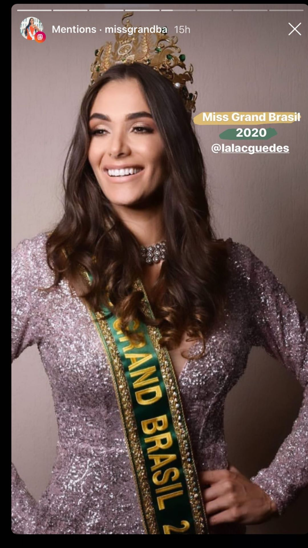 lala guedes, miss grand brasil 2020. - Página 7 89938710