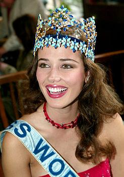 maria julia mantilla garcia (aka maju mantilla), miss world 2004. A0504016