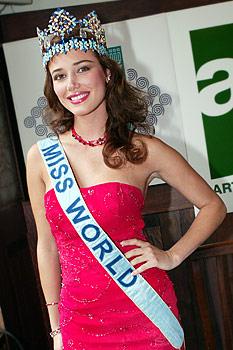 maria julia mantilla garcia (aka maju mantilla), miss world 2004. A0504018