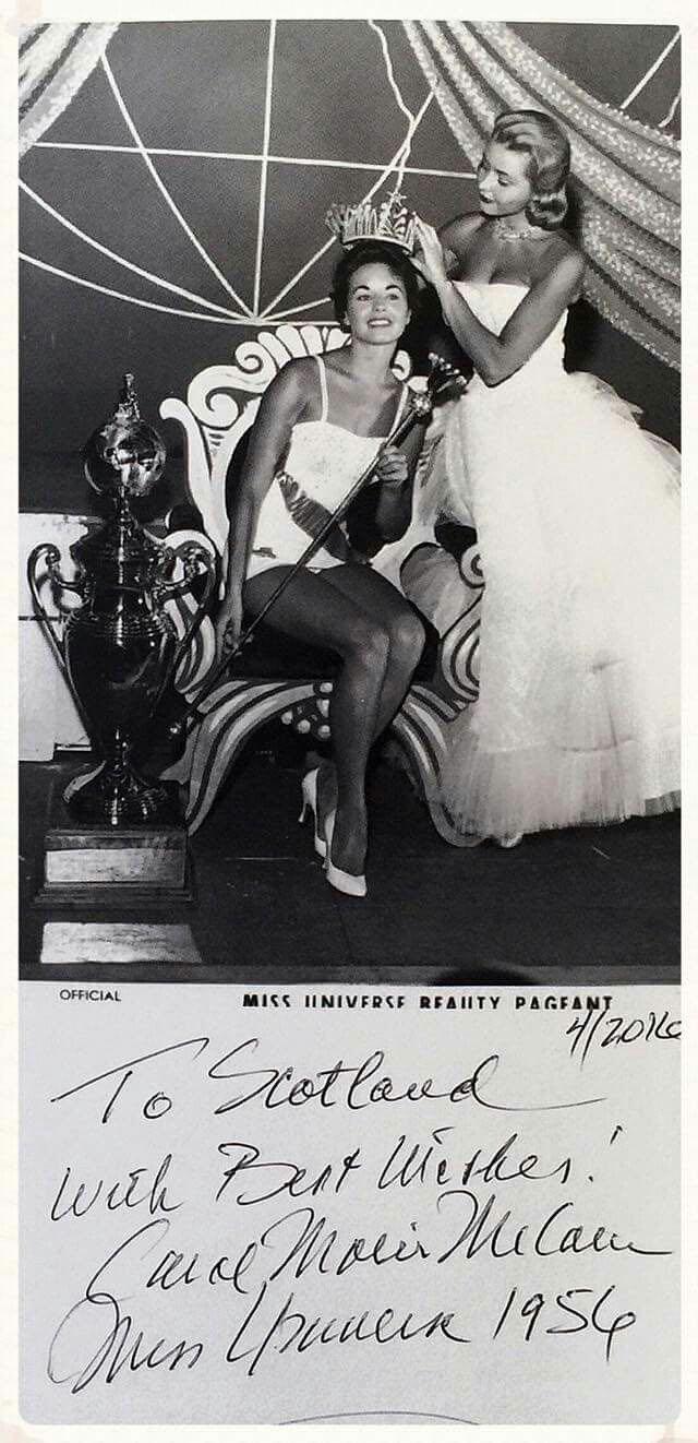 carol morris, miss universe 1956. Cm2510