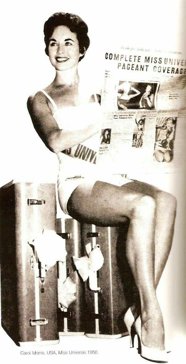 carol morris, miss universe 1956. Cm2910