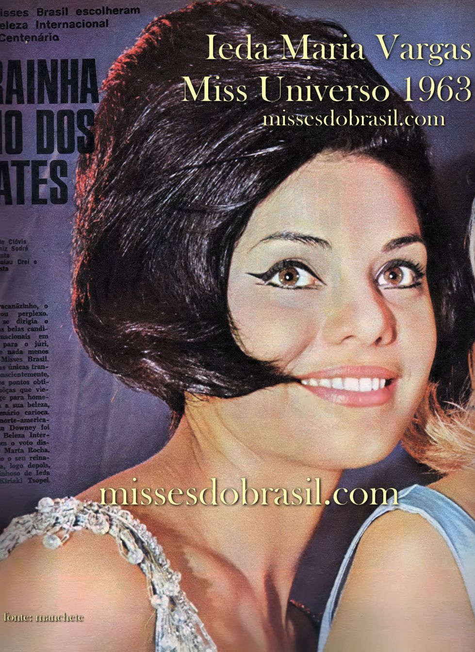 ieda maria vargas, miss universe 1963. D5632310