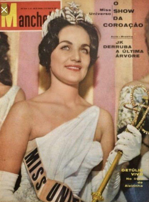 linda bement, miss universe 1960. † D6fc3310