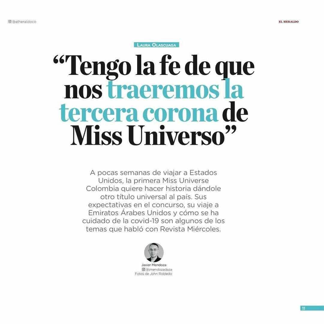 laura olascuaga, miss colombia universo 2020. - Página 12 Doicp10