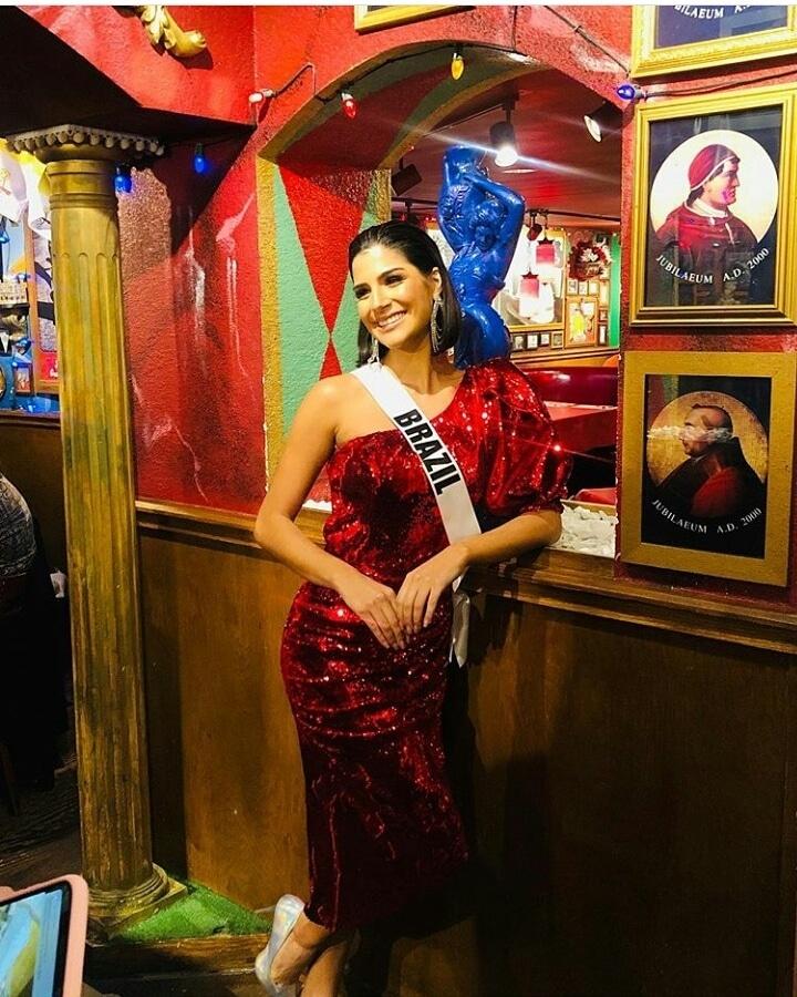 julia horta, top 20 de miss universe 2019. - Página 16 E918af10