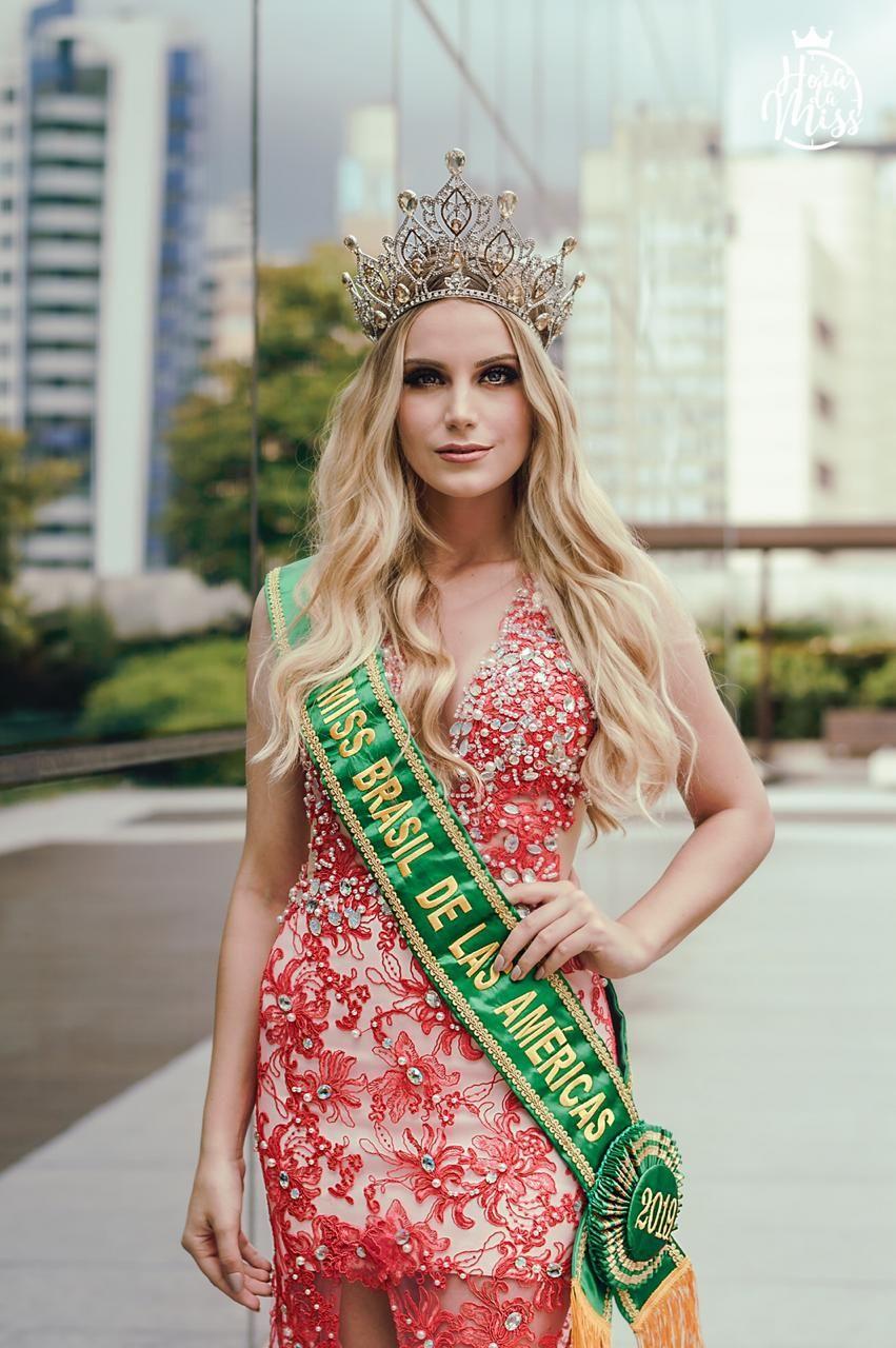 amanda pegoraro , miss brasil de las americas 2019. - Página 2 Editor10