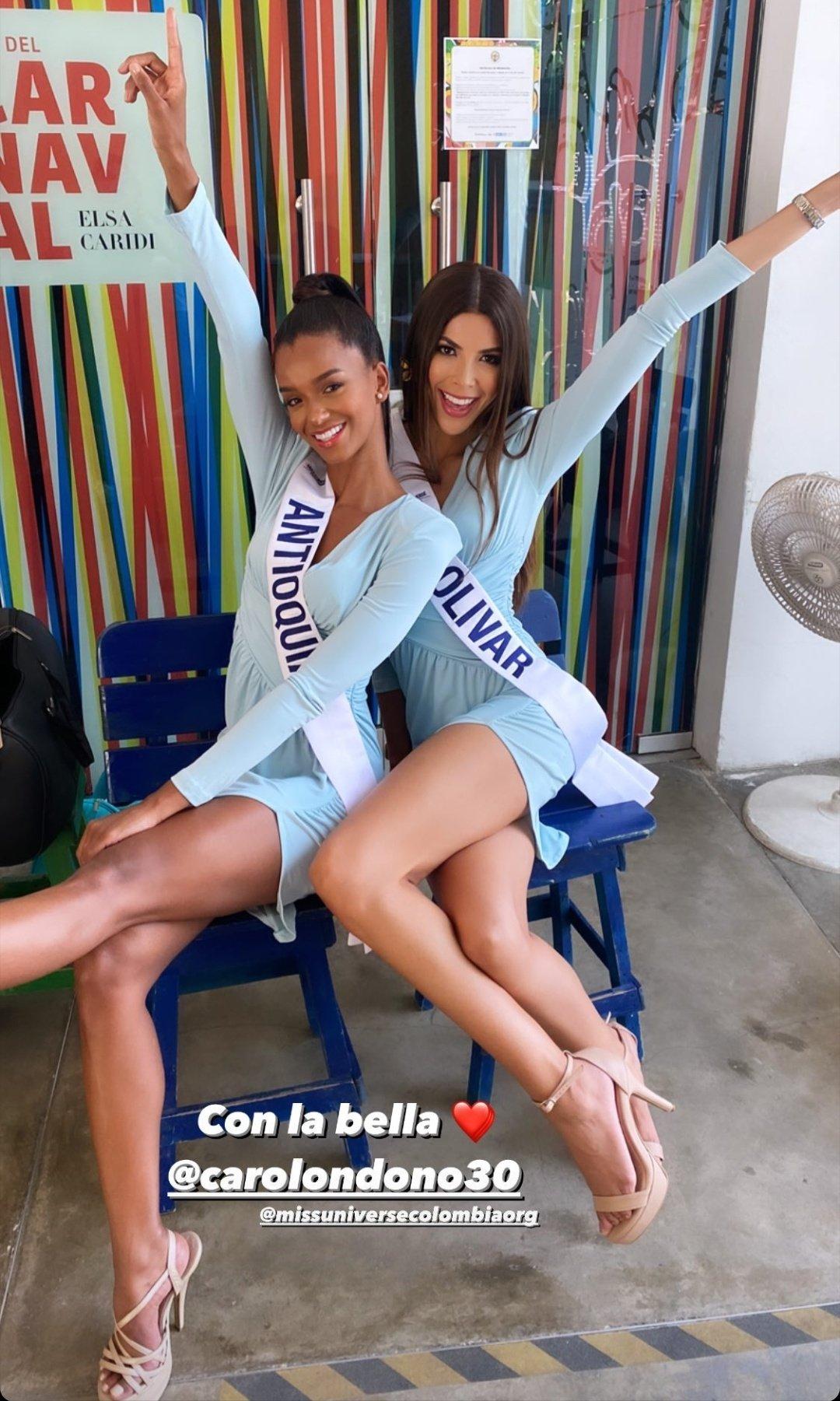 carolina londono, top 16 de miss colombia universo 2020. - Página 3 Emo2re10