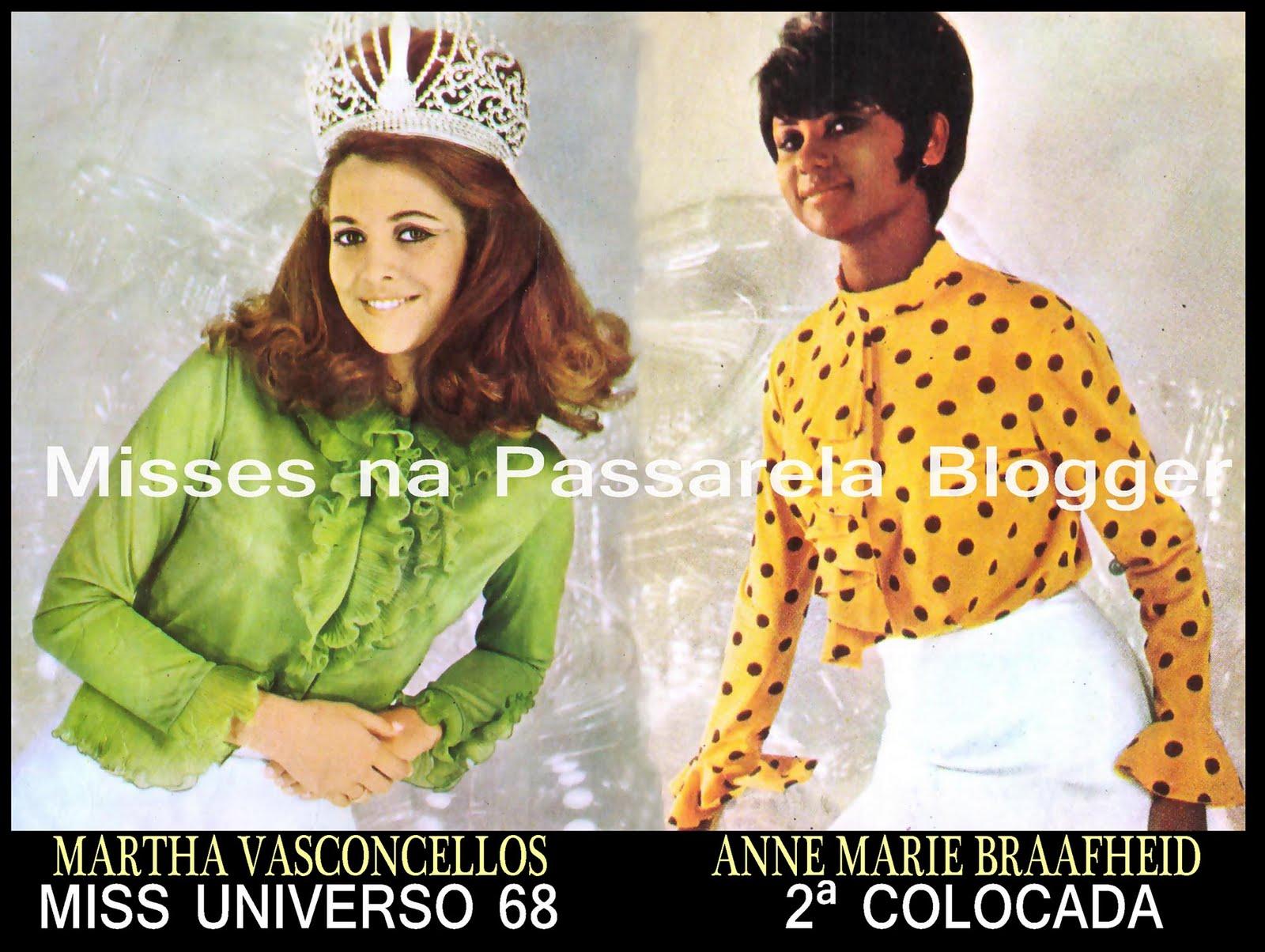martha vasconcelos, miss universe 1968. Estrel10