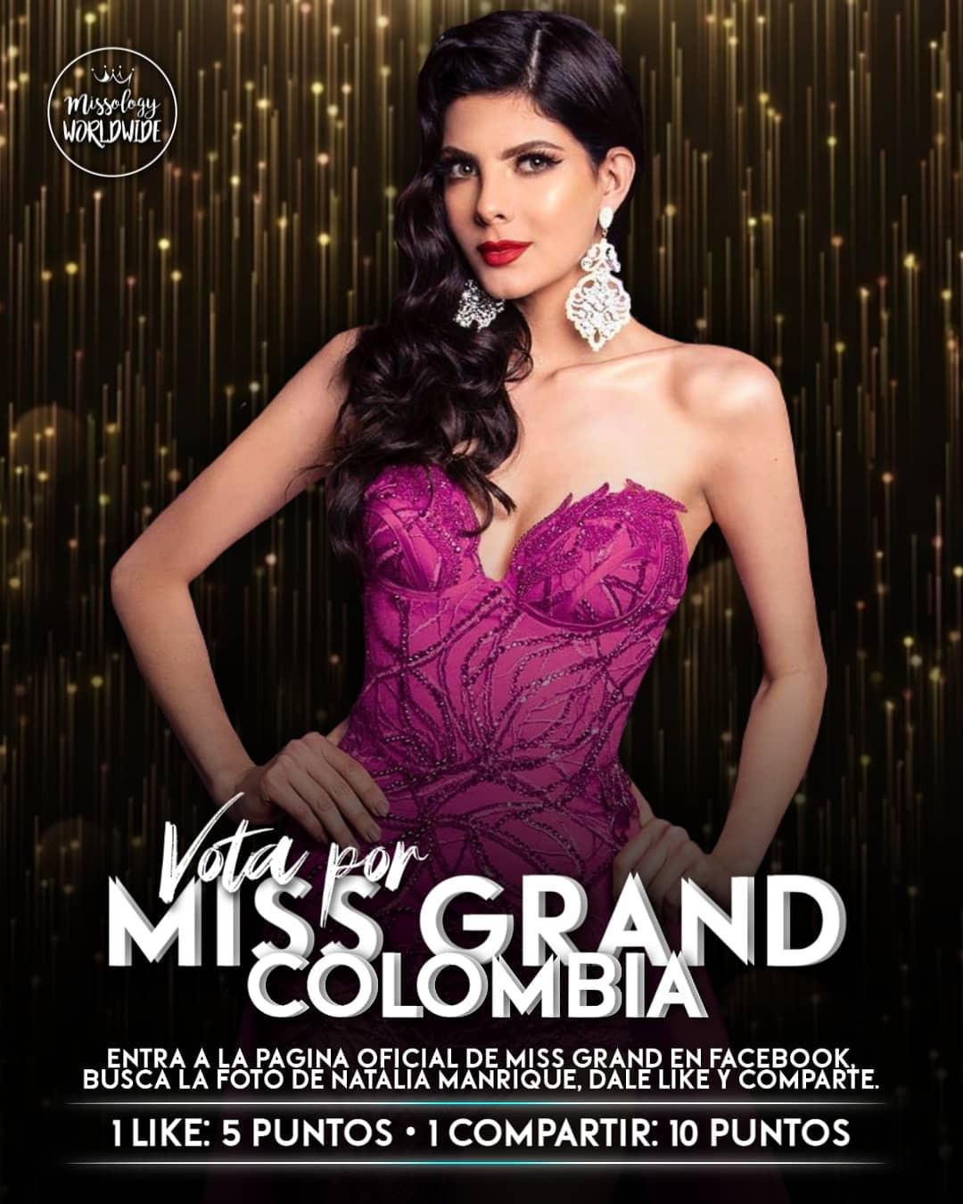 natalia manrique, miss grand colombia 2020. - Página 3 Fd0nd710