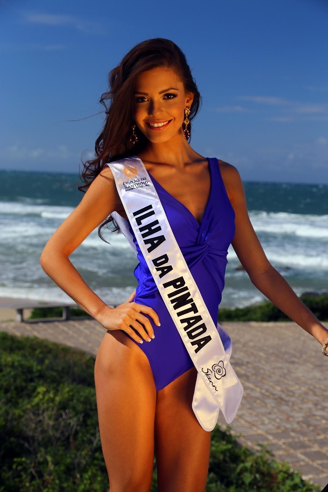vitoria strada, top 2 no miss brasil mundo 2014. Ilha-d10