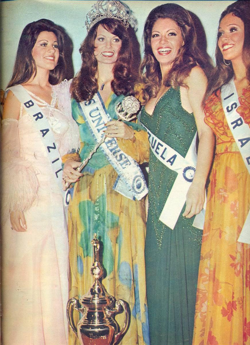 rejane goulart (rejane vieira), top 2 de miss universe 1972 (11/15/1954 - 12/26/2013). † Manche14