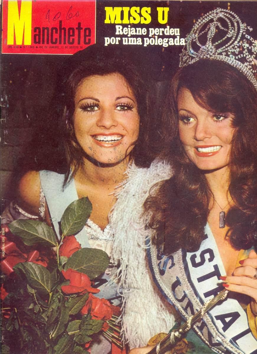 rejane goulart (rejane vieira), top 2 de miss universe 1972 (11/15/1954 - 12/26/2013). † Manche16